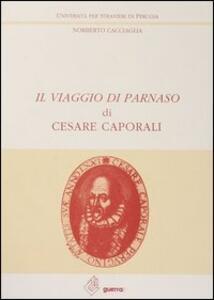 Il viaggio di Parnaso di Cesare Caporali - Norberto Cacciaglia - copertina