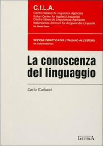 La conoscenza del linguaggio