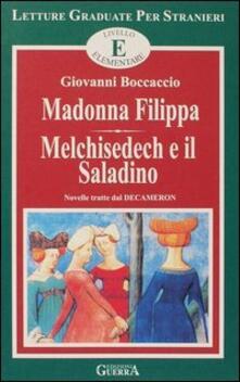 Winniearcher.com Madonna Filippa-Melchisedech e il saladino. Livello elementare Image
