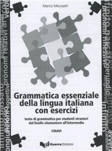 Grammatica essenziale italiana con esercizi. Chiavi.pdf