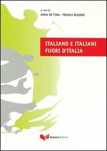 Italiano e italiani fuori d'Italia