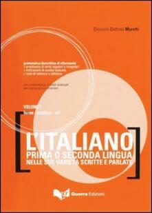 Aboutschuster.de L' italiano come prima o seconda lingua nelle sue varietà scritte e parlate. Vol. 1: Forme, strutture, usi. Image