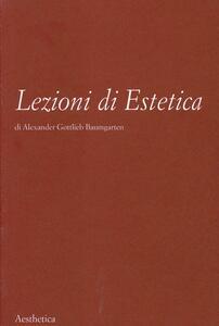 Lezioni di estetica. Vol. 49
