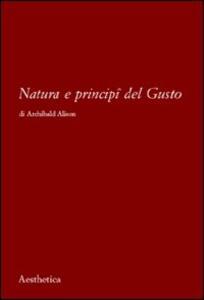 Natura e principi del gusto