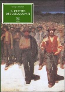 Il partito dei disoccupati - Giorgio Gurrieri - copertina