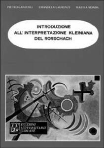 Introduzione alla interpretazione kleiniana del Rorschach