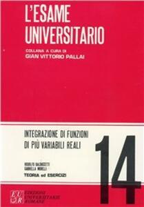 Integrazione di funzioni di più variabili reali