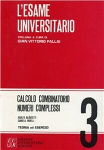 Calcolo combinatorio, numeri complessi
