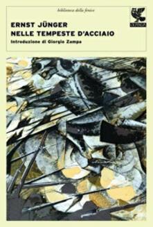 Nelle tempeste d'acciaio - Ernst Jünger - copertina