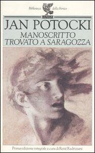 Libro Manoscritto trovato a Saragozza Jan Potocki