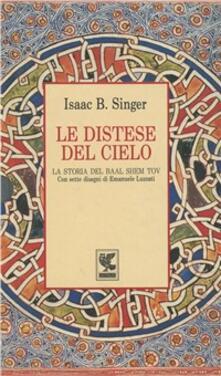 Le distese del cielo - Isaac Bashevis Singer - copertina