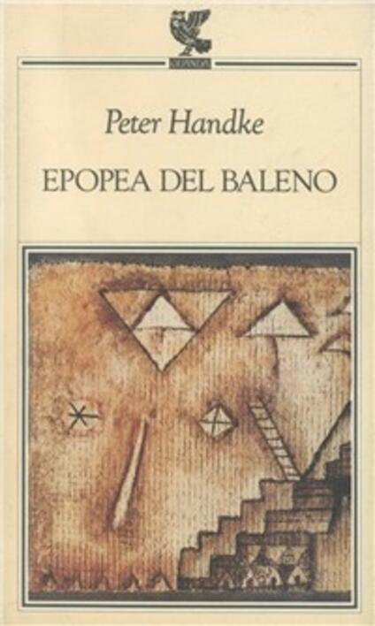 Epopea del baleno - Peter Handke - copertina