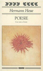 Libro Poesie. Testo a fronte Hermann Hesse