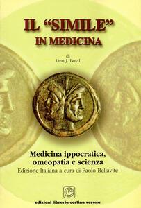 Il «simile» in medicina