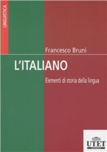 Winniearcher.com L' italiano. Elementi di storia della lingua e della cultura Image