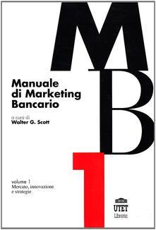 Manuale di marketing bancario - copertina