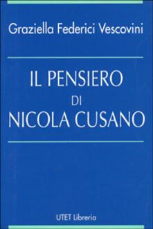 Vitalitart.it Il pensiero di Nicola Cusano Image