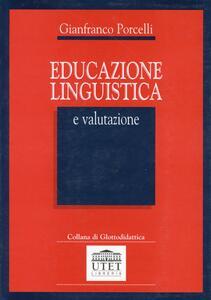 Educazione linguistica e valutazione