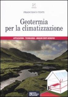 Geotermia per la climatizzazione