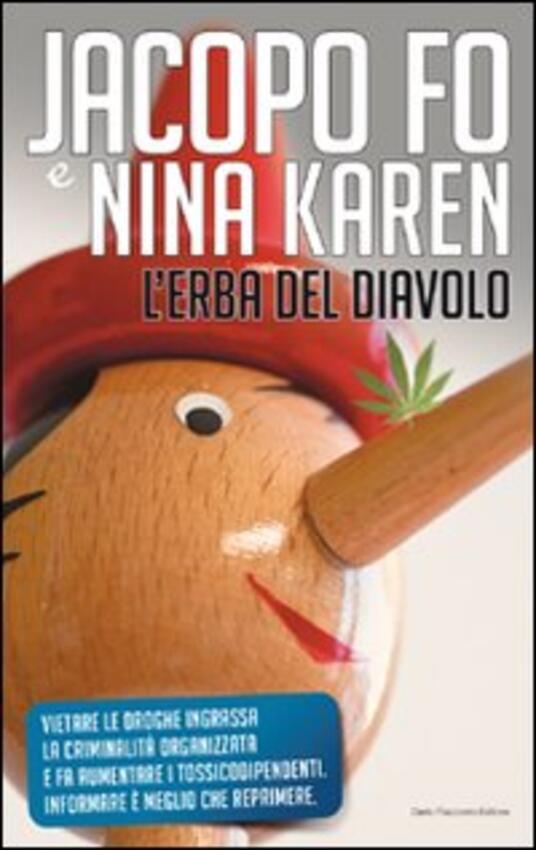 L' erba del diavolo - Jacopo Fo,Nina Karen - copertina