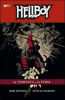 Parcoarenas.it La tempesta e la furia. Hellboy. Vol. 12 Image