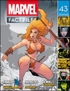 Marvel fact files. Vol. 23