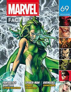 Marvel fact files. Vol. 70