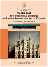 Dicoen 2009. Fifth international Conference on discourse, communication and the enterprise. Conference proceedings