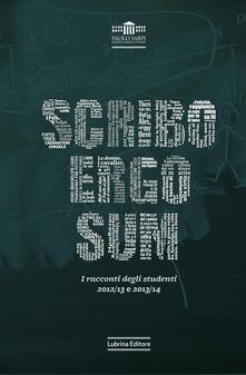 Cefalufilmfestival.it Scribo ergo sum. I racconti degli studenti. Vol. 2 Image