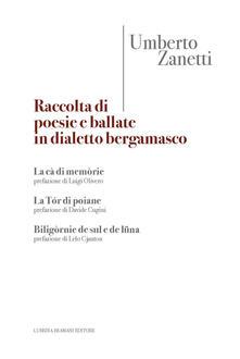 Camfeed.it Raccolta di poesie e ballate in dialetto bergamasco Image
