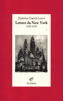 Lettere da New York. 1929-1930 - Federico García Lorca - copertina