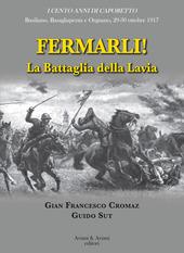 Copertina  Fermarli! : la battaglia della Lavia