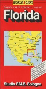 Florida. Carta stradale 1:800.000