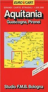 Aquitania. Guascogna. Pirenei 1:300.000