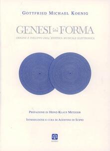 Lpgcsostenible.es Genesi e forma. Origine e sviluppo dell'estetica musicale elettronica Image