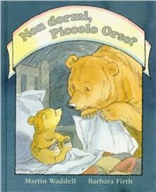 Non dormi, piccolo orso? - Martin Waddell - copertina