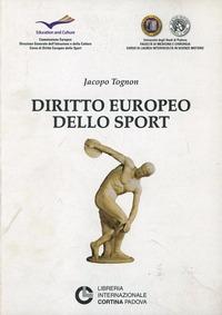 Diritto europeo dello sport - Tognon Jacopo - wuz.it