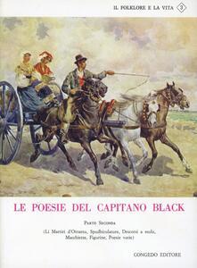 Le poesie del capitano Black