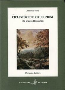 Cicli storici e rivoluzioni. Da Vico a Rousseau