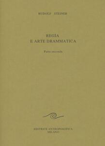 Regia e arte drammatica