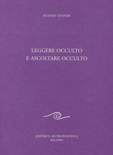 Festivalshakespeare.it Leggere occulto e ascoltare occulto Image