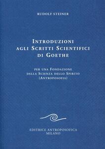 Introduzioni agli scritti scientifici di Goethe