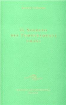 Il segreto dei temperamenti umani - Rudolf Steiner - copertina