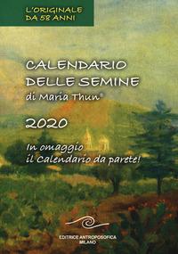 CALENDARIO DELLE SEMINE 2020. CON CALEND