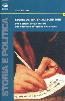 Tegliowinterrun.it Storia dei materiali scrittori. Dalle origini della scrittura alla nascita e diffusione della carta Image