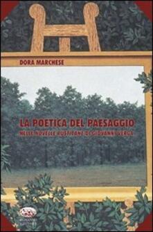 La poetica del paesaggio nelle novelle rusticane di Giovanni Verga - Dora Marchese - copertina