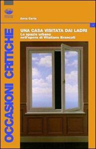 Una casa visitata dai ladri. Lo spazio urbano nell'opera di Vitaliano Brancati