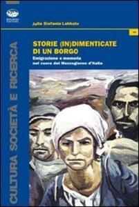 Storie (in)dimenticate di un borgo. Emigrazione e memoria nel cuore del Mezzogiorno d'Italia