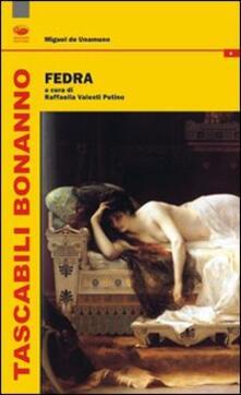 Fedra - Miguel de Unamuno - copertina