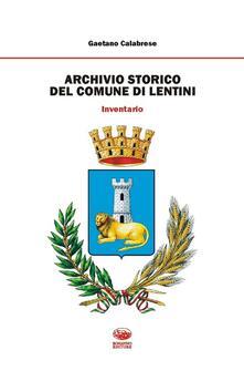 Daddyswing.es Archivio storico del comune di Lentini. Inventario Image